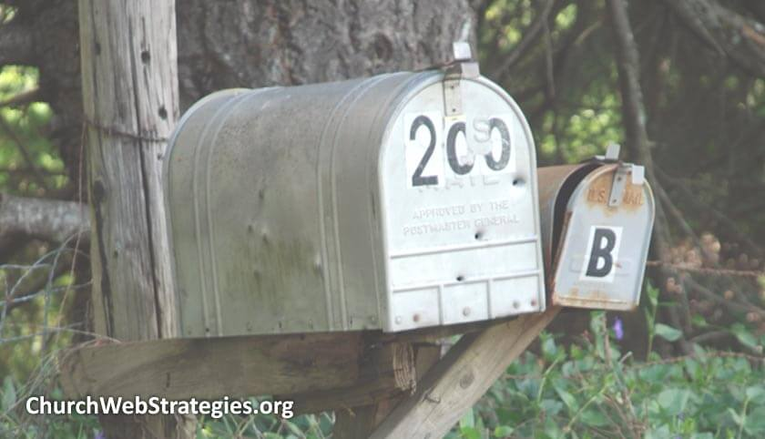two old mailboxes
